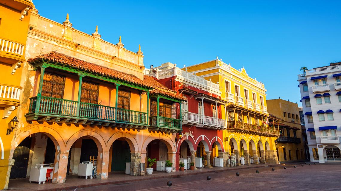 Bezienswaardigheden in Cartagena