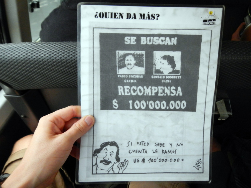 Compensatie voor moorden agenten Medellin