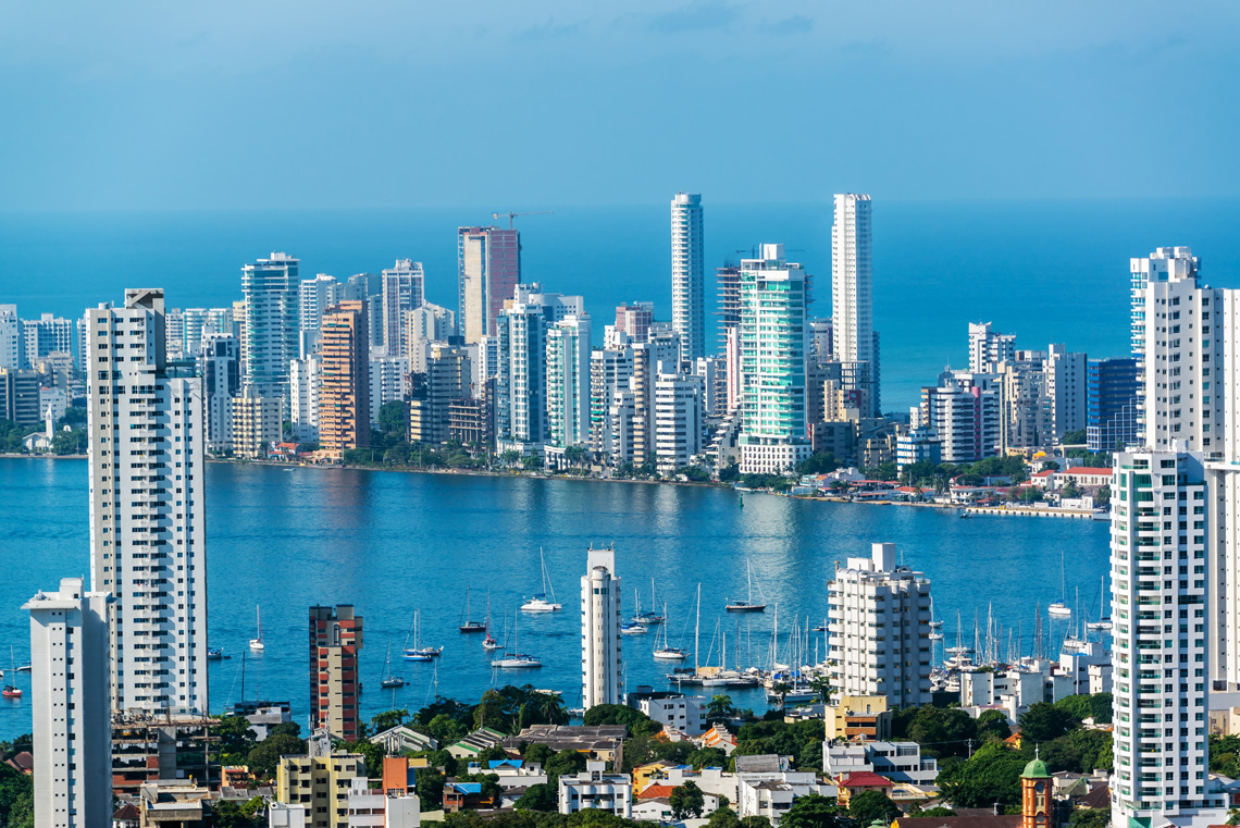 Skyline Cartagena Colombia