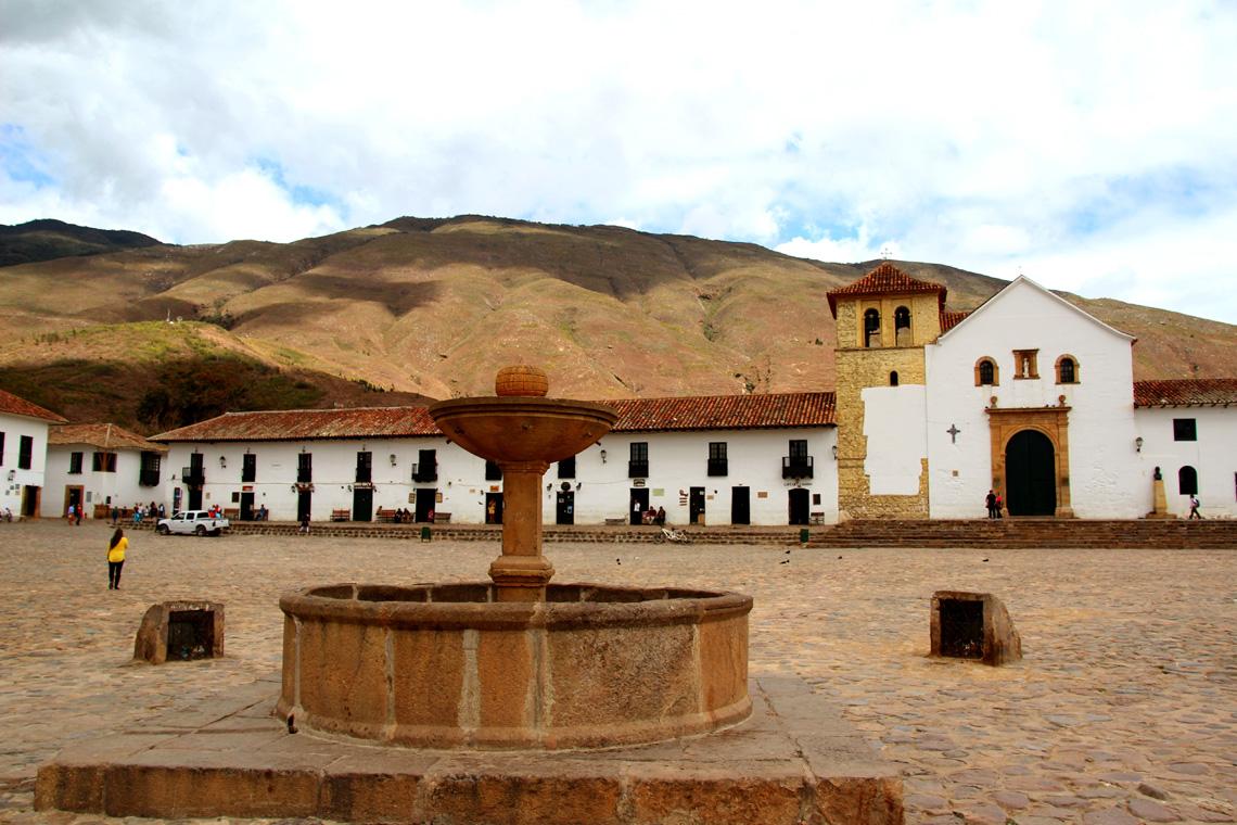 Plaza Mayor in Villa de Leyva
