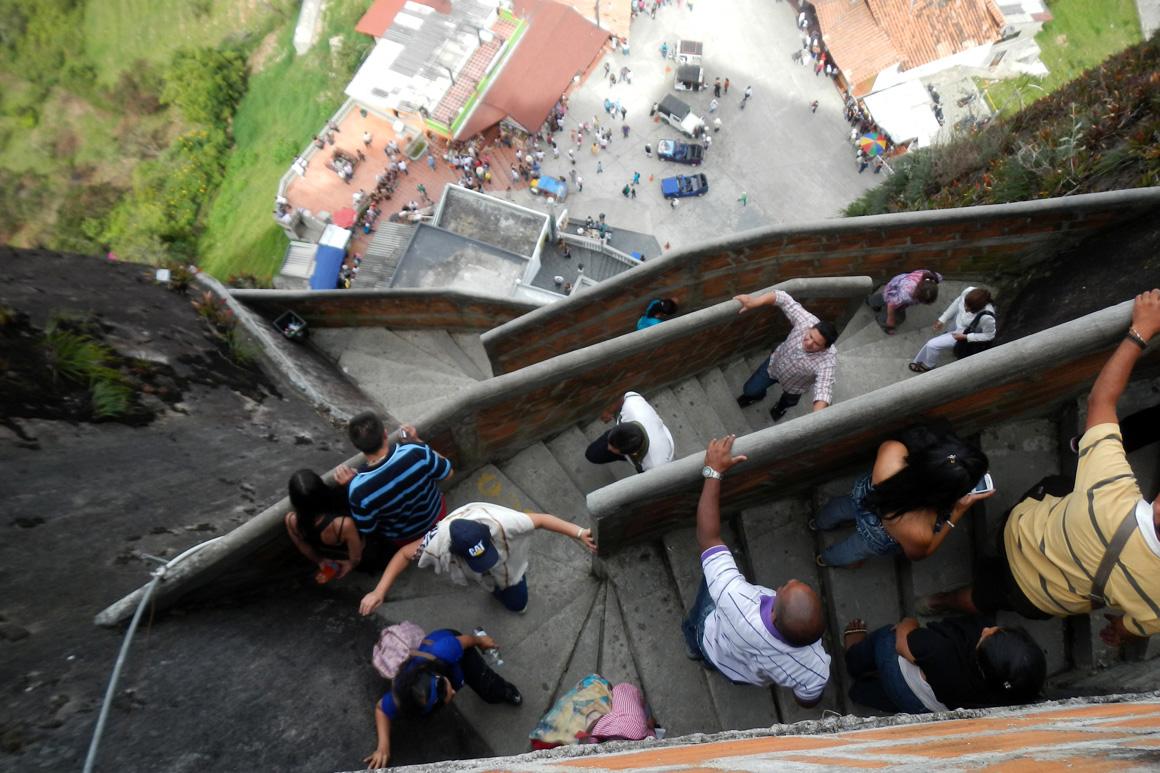 Trappen La Piedra rots Guatapé