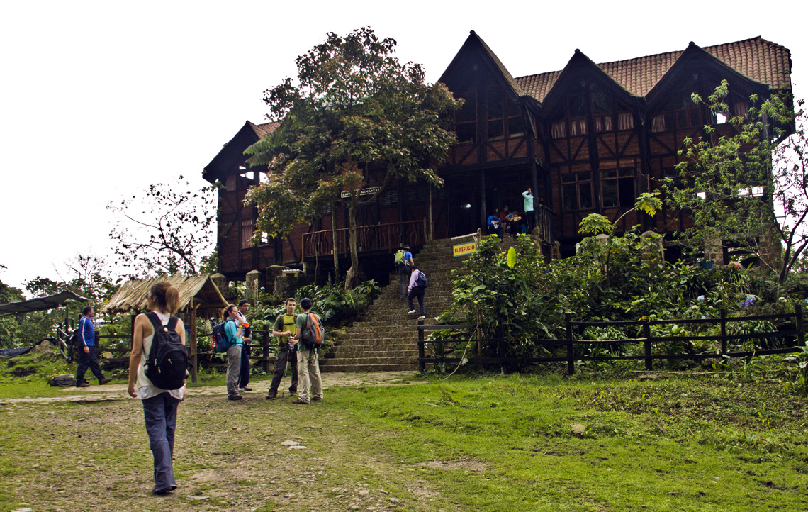 El Refugio boomhut verblijf Chicaque