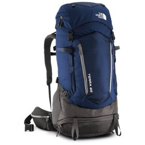 The North Face rugzak blauw