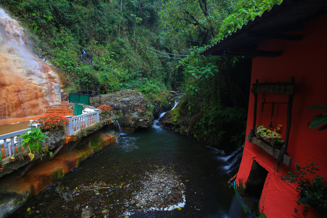 Hot springs in Manizales