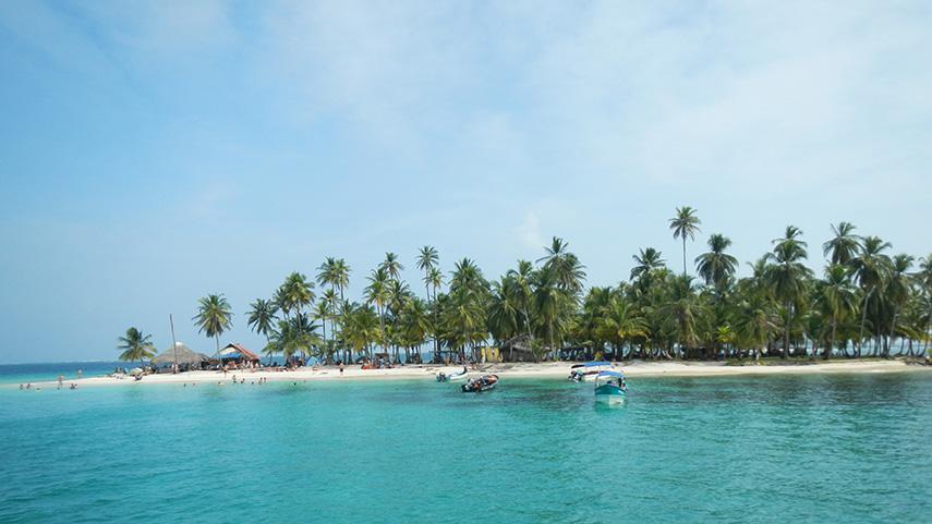 San Blas eilanden overtocht Colombia