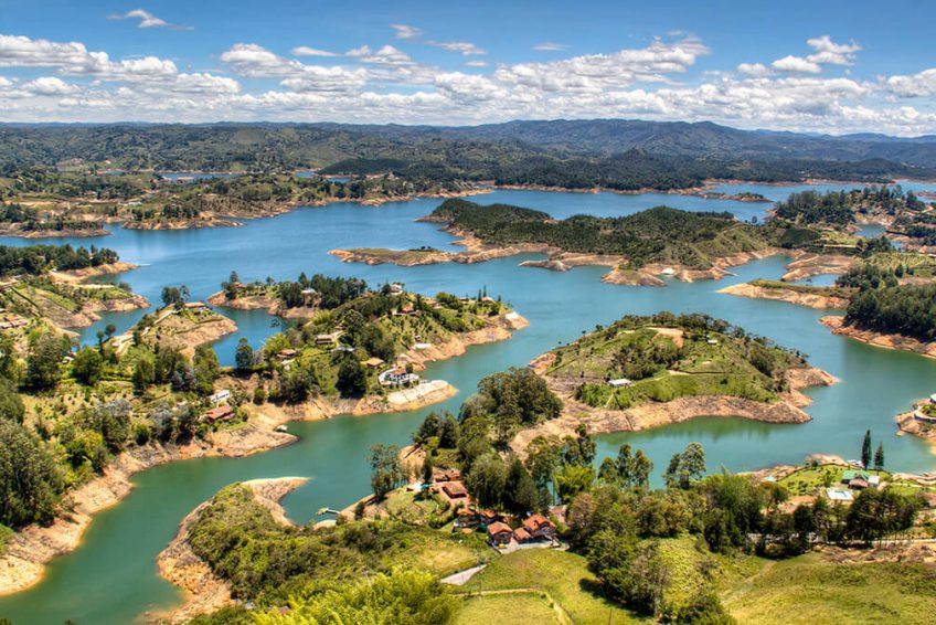 Embalse del Peñol Colombia