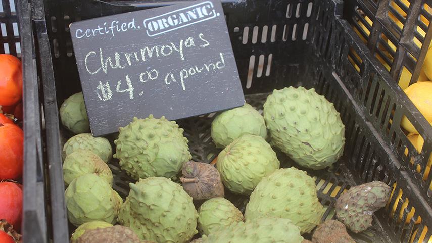 Chirimoya vruchten