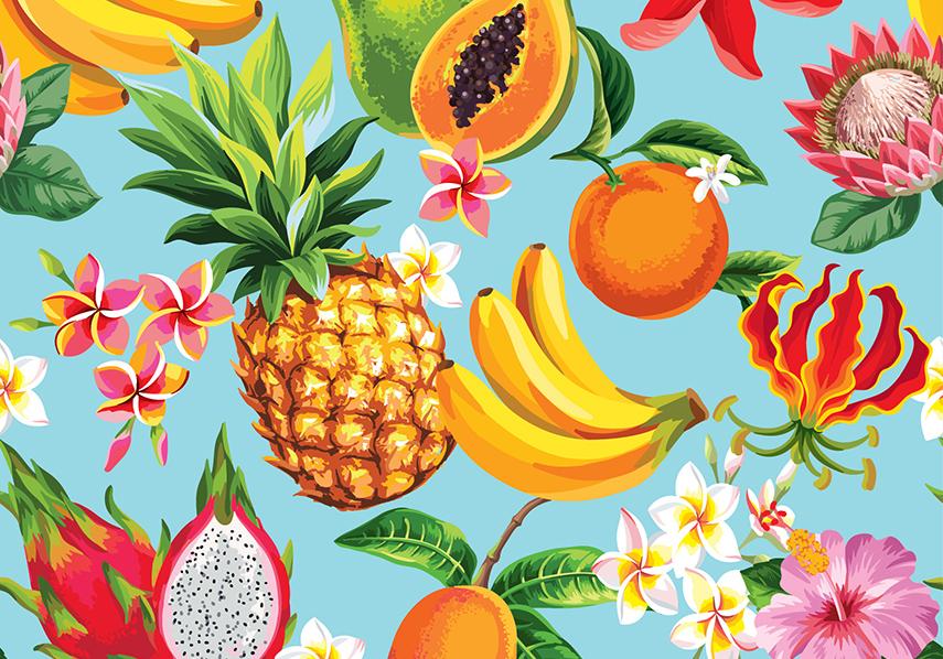 Colombiaans vers fruit