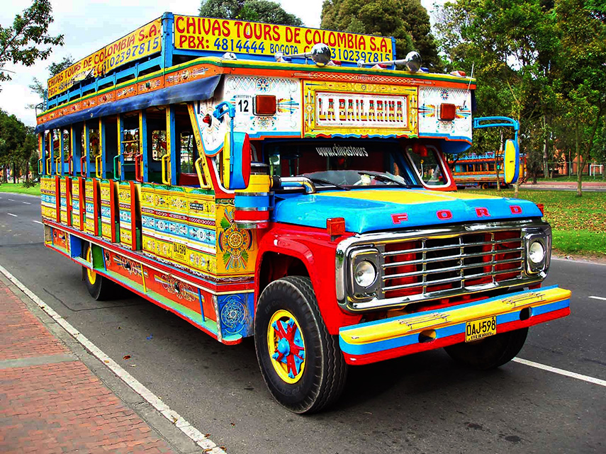 Busreizen Colombia