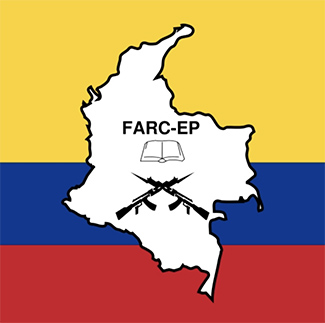 FARC vlag Colombia