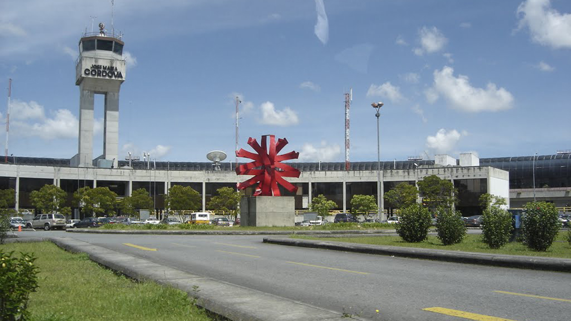 Vliegtickets Medellín airport