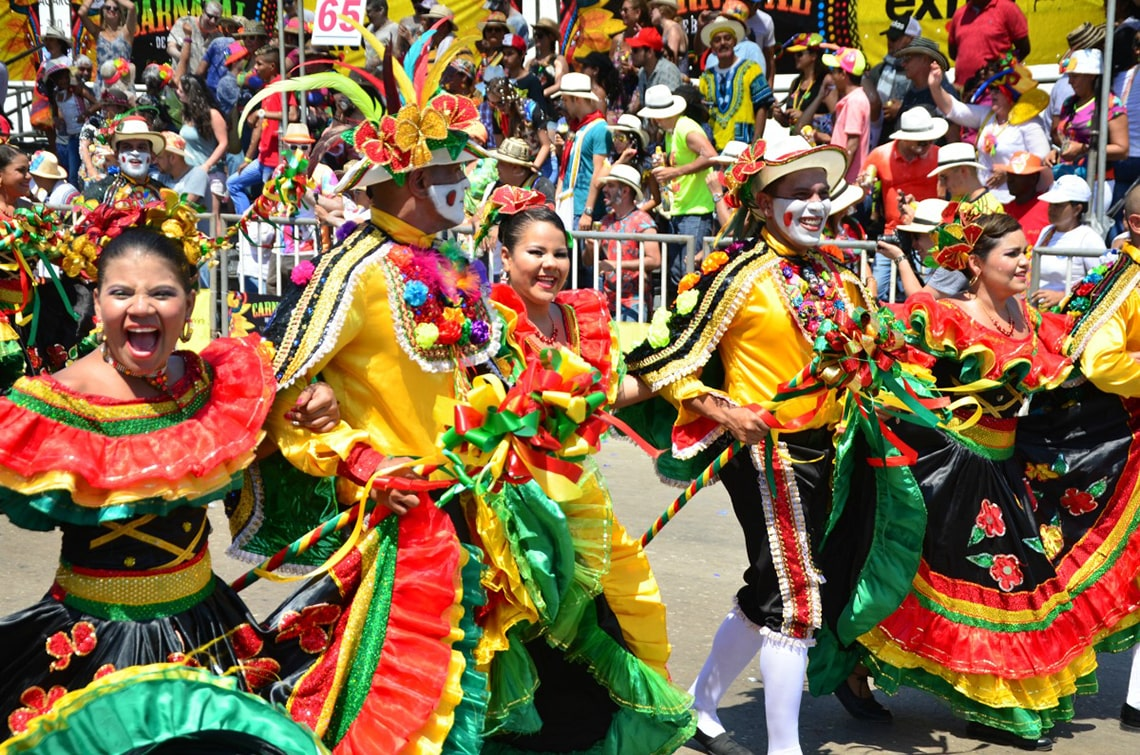 Carnaval de Barranquilla in Colombia