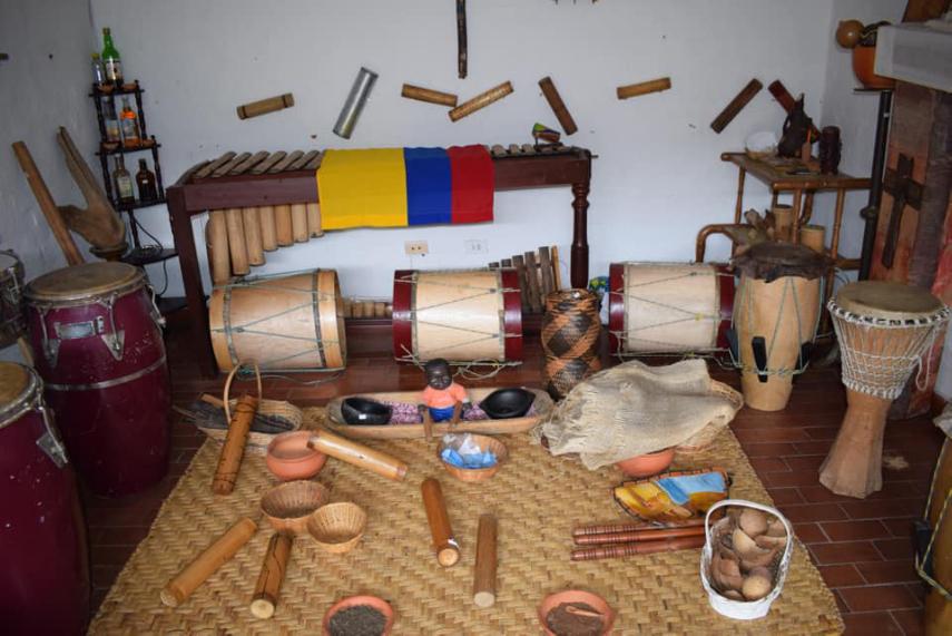 Traditionele instrumenten Colombia