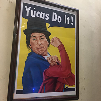 Yucas can do it