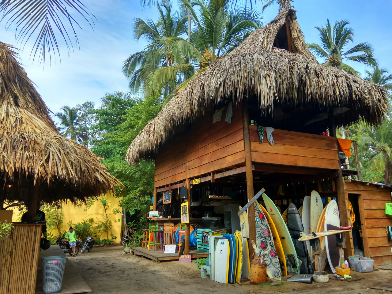 Surfschool in Costeño Beach Colombia